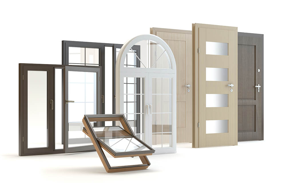 Fusteria, parquet, portes i finestres d'alumini o PVC